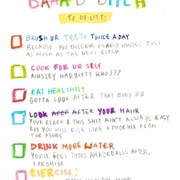 Savanna Achampong's 'Bad Bitch To-Do List'