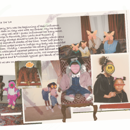 Me '93 '04 '14 by Anita Safowaa