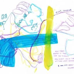 """Exploring spirituality in a way that makes sense to me"" – artwork by Savanna Achampong"